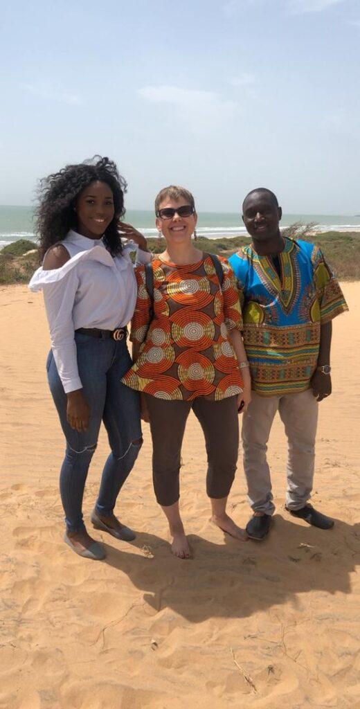 Gambia, Tujereng, Eco-Lodge, Küste